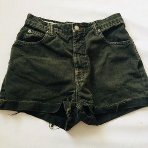 Vintage Banana Republic High Waist Cut Off Shorts
